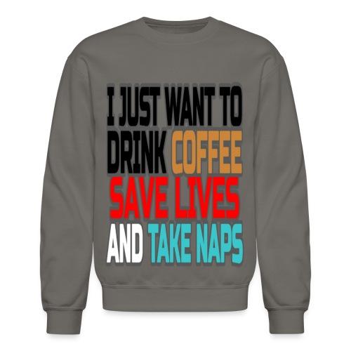 Coffee Break  - Crewneck Sweatshirt
