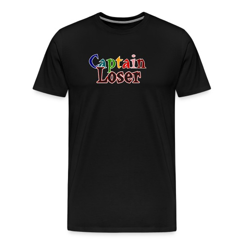 Captain Loser hoodie - Men's Premium T-Shirt