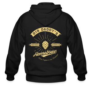 Big Daddy's Homebrew - Men's Zip Hoodie