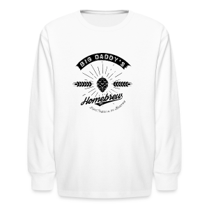 Big Daddy's Homebrew - Kids' Long Sleeve T-Shirt