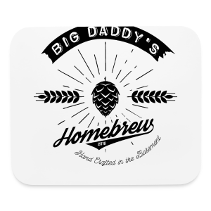 Big Daddy's Homebrew - Mouse pad Horizontal