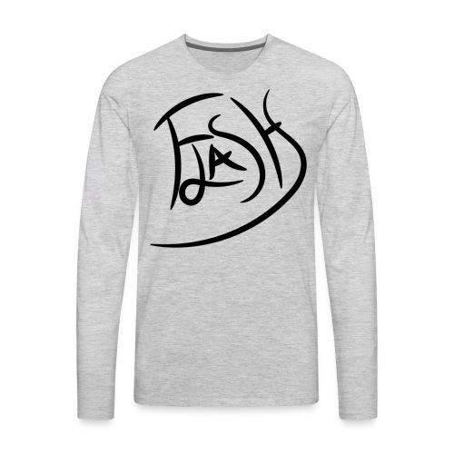 Flash Signature - Men's Premium Long Sleeve T-Shirt