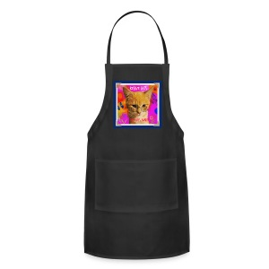 Rescue Cats Are Groovy tote bag - Adjustable Apron
