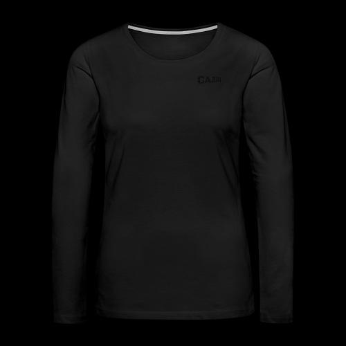 Cajun Slash Women's Official Shirt - Women's Premium Long Sleeve T-Shirt