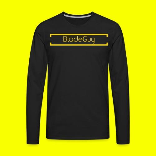 Standard Male Shirt - Men's Premium Long Sleeve T-Shirt