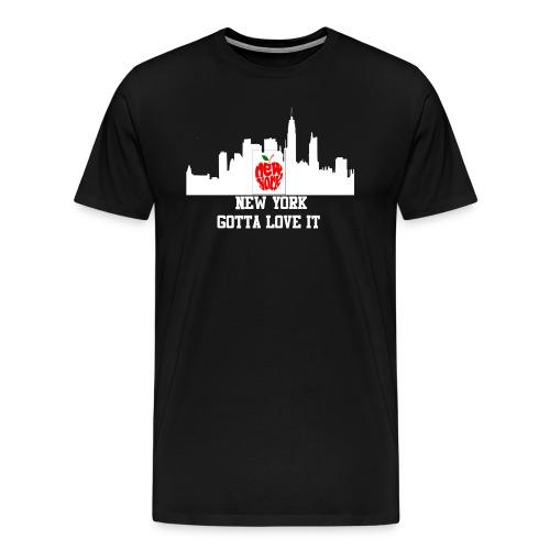 NYC hoodie - Men's Premium T-Shirt
