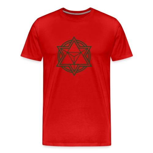 Mens Standard Merkaba Music Logo Tee - Men's Premium T-Shirt