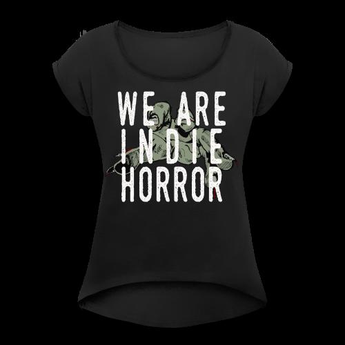 2016 Logo - Women's Tee - Women's Roll Cuff T-Shirt