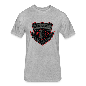 Black Knights - Fitted Cotton/Poly T-Shirt by Next Level