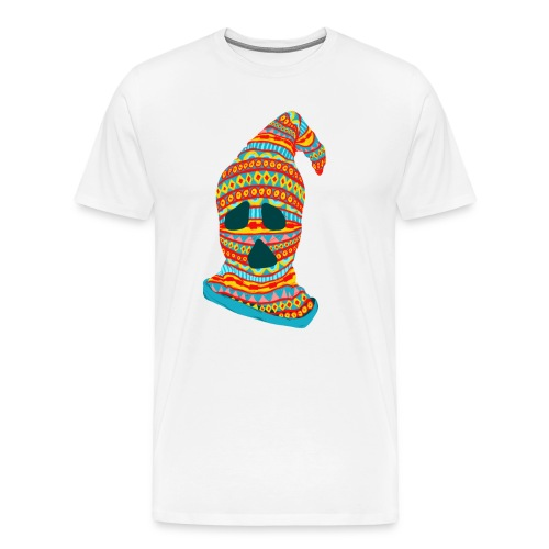 Ghost Face Ski Mask - Men's Premium T-Shirt