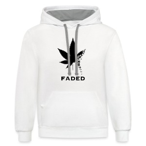 Faded - Contrast Hoodie