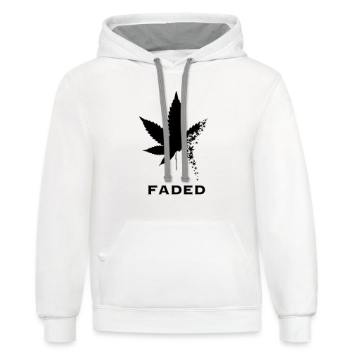 Faded - Contrast Hoodie