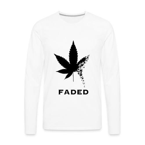 Faded - Men's Premium Long Sleeve T-Shirt