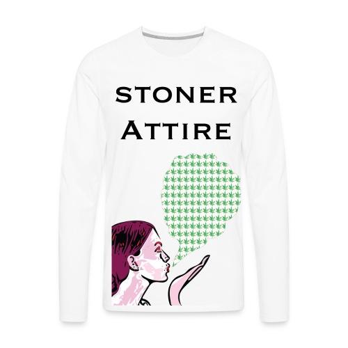 Blowing Smoke - Men's Premium Long Sleeve T-Shirt