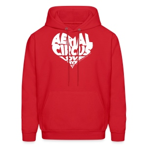 Aerial circus / Love to fly word art tank - Men's Hoodie