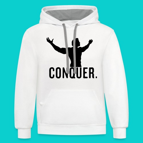 Conquer - Contrast Hoodie
