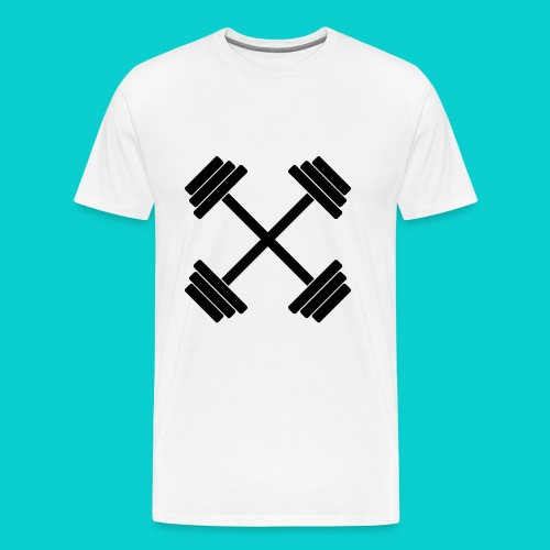 Cross Weights - Men's Premium T-Shirt