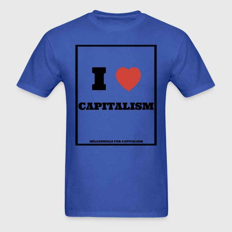 I love Capitalism T-Shirts - Men's T-Shirt