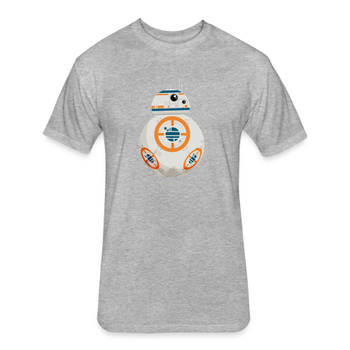 BB-8 - Fitted Cotton/Poly T-Shirt by Next Level
