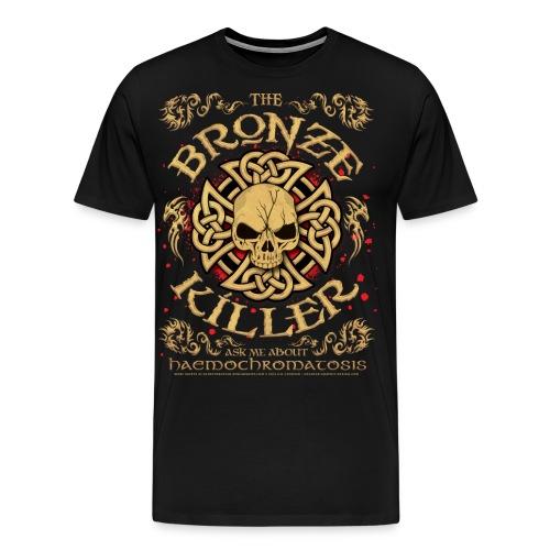 Hemochromatosis Awareness Bronze Killer T Shirt - Men's Premium T-Shirt
