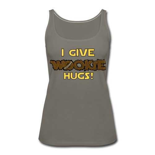 Wookie Hugs (Woman's tee) - Women's Premium Tank Top