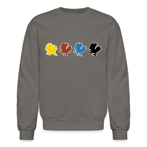 Chocobo Run (Women's tee) - Crewneck Sweatshirt