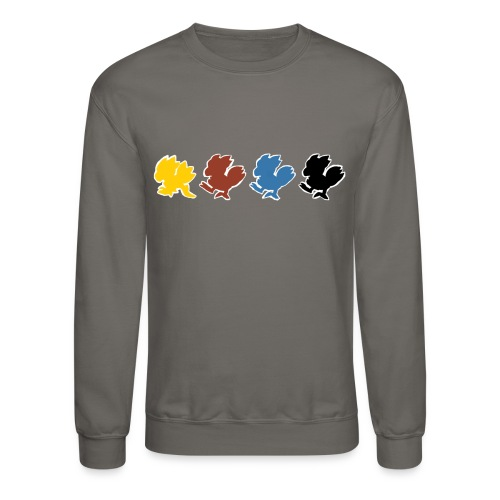 Chocobo Run (Women's tee) - Crewneck Sweatshirt