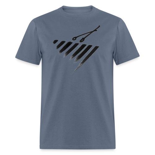 Marimba Bars - Men's T-Shirt