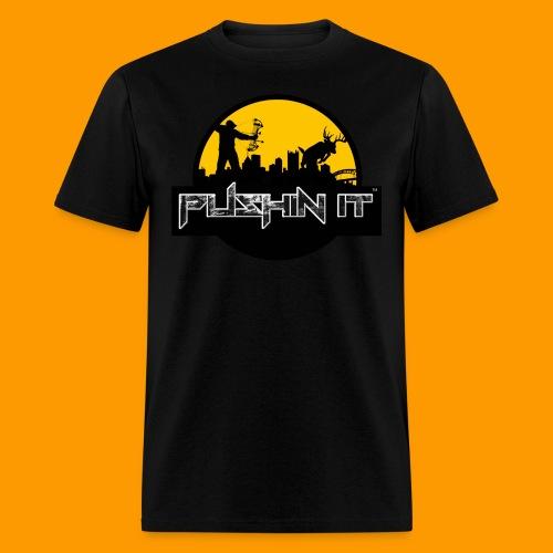 Pushin It Mens Pittsburgh Tee - Men's T-Shirt
