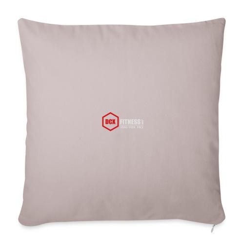 DCXFitness watter bottle silver - Throw Pillow Cover