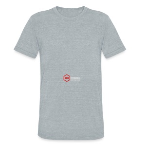 DCXFitness watter bottle silver - Unisex Tri-Blend T-Shirt