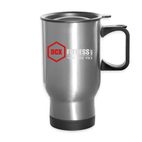 DCXFitness watter bottle silver - Travel Mug