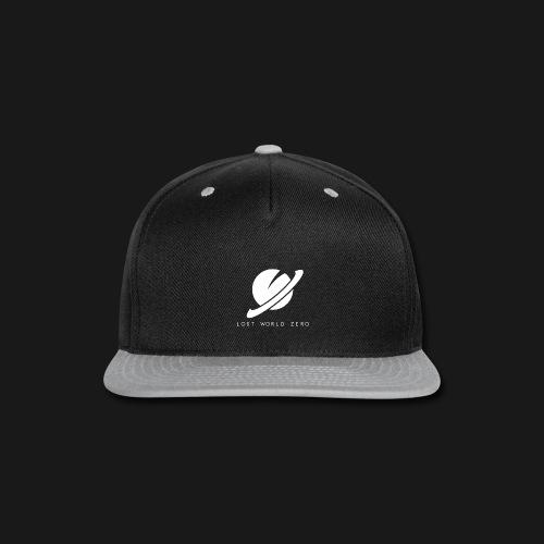 Lost World Zero Logo T-Shirt w/ Text - Snap-back Baseball Cap