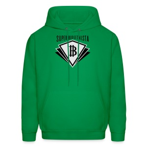 Super Budgetnista Tee,  White/Green - Men's Hoodie