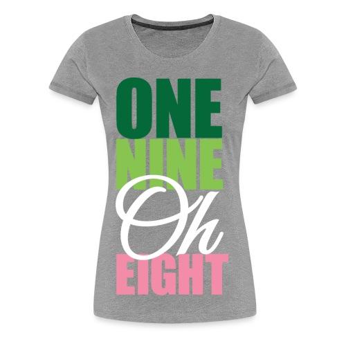 One Nine Oh Eight - Women's Premium T-Shirt