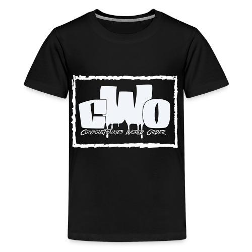 cWo Women's Pullover Hoodie - Kids' Premium T-Shirt