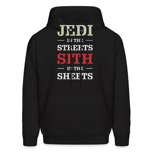 Jedi In The Streets - Men's Hoodie