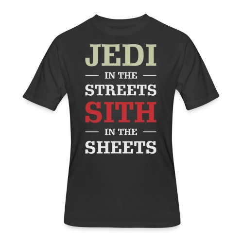 Jedi In The Streets - Men's 50/50 T-Shirt