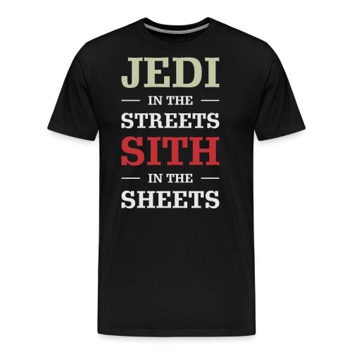 Jedi In The Streets - Men's Premium T-Shirt