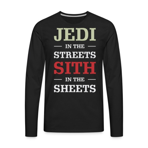 Jedi In The Streets - Men's Premium Long Sleeve T-Shirt