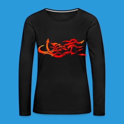 Women's design from hell T-shirt - Women's Premium Long Sleeve T-Shirt