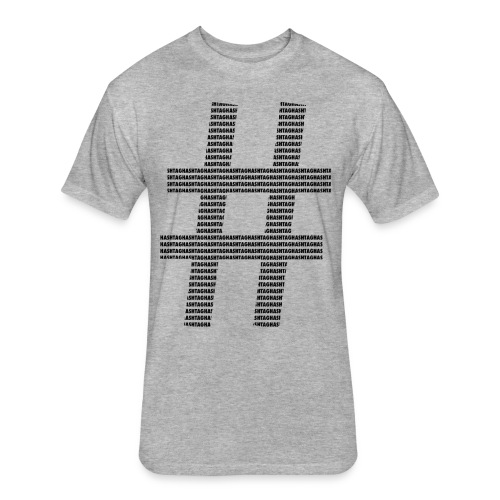 hashtag - Fitted Cotton/Poly T-Shirt by Next Level