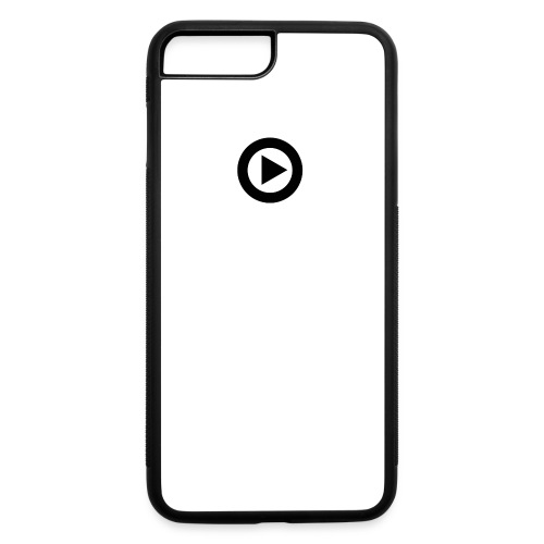 DISO Records Logo - Small Button - iPhone 7 Plus/8 Plus Rubber Case