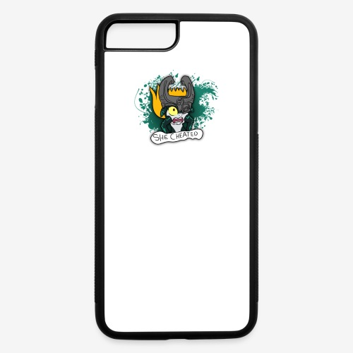 SHE CHEATED! Womens - iPhone 7 Plus/8 Plus Rubber Case