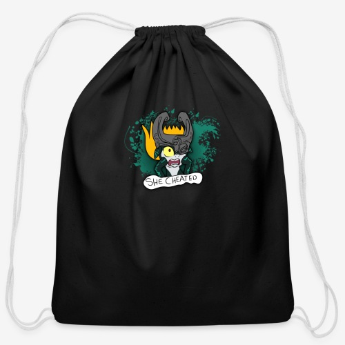 SHE CHEATED! Womens - Cotton Drawstring Bag