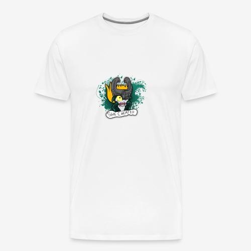 SHE CHEATED! Womens - Men's Premium T-Shirt