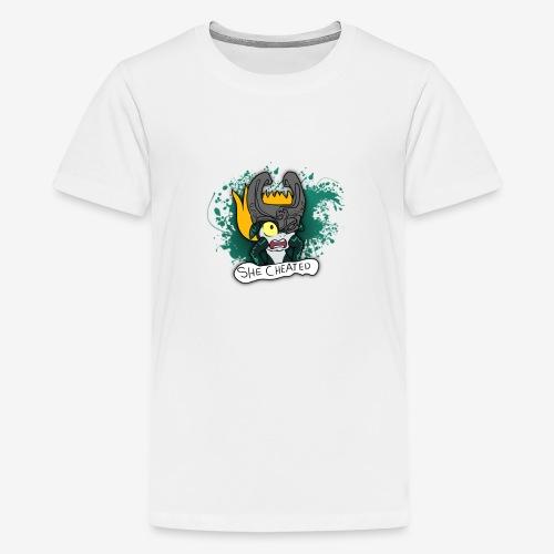 SHE CHEATED! Womens - Kids' Premium T-Shirt