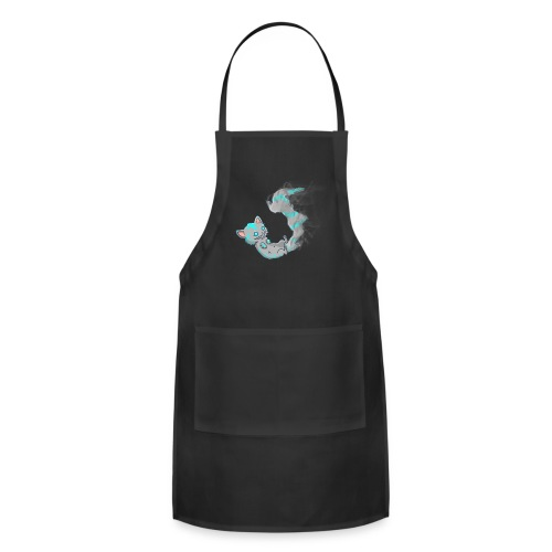 Fading Cheshire (Men's Tee) - Adjustable Apron