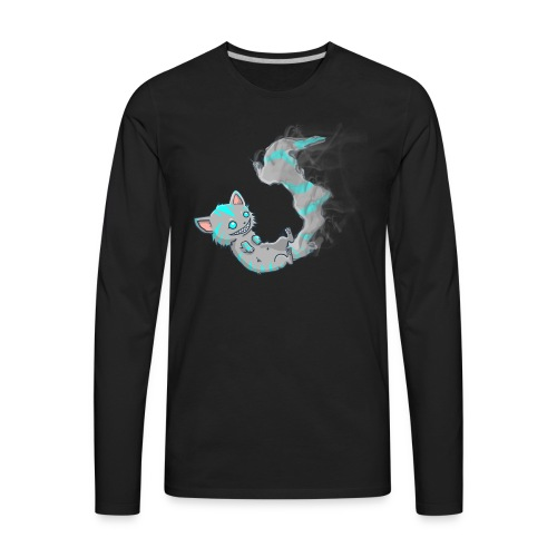 Fading Cheshire (Men's Tee) - Men's Premium Long Sleeve T-Shirt