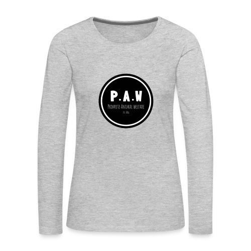 P.A.W Women's T-Shirt  - Women's Premium Long Sleeve T-Shirt